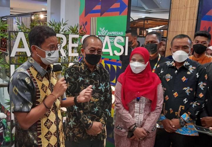 Sandiaga: Wisata Lampung Terbuka untuk Turis Mancanegara