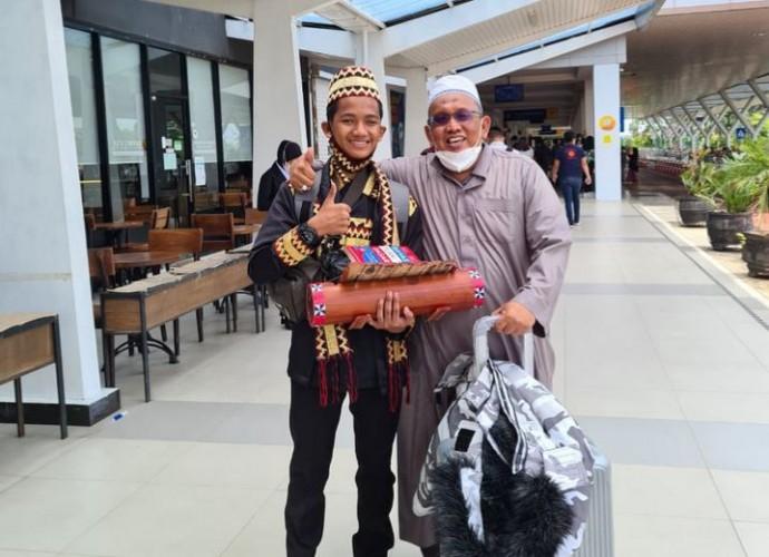Santri Ponpes Ryadus Sholihin Promosikan Budaya Lampung di 4 Negara