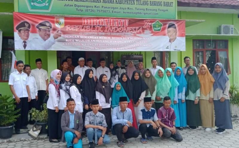 Santri Tubaba Ikuti Kompetisi Sains Madrasah