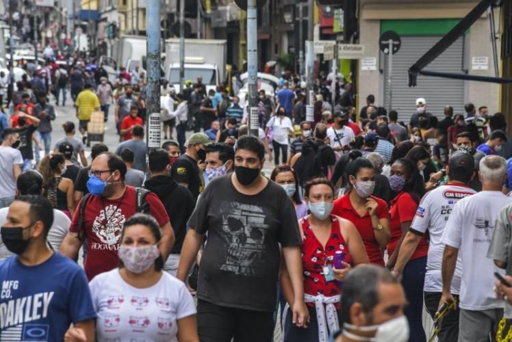 Sao Paulo Rekor Tertinggi Kematian Akibat Covid-19