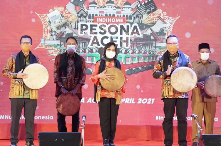 Sapa Aceh, Telkom Perkuat IndiHome sebagai Internetnya Indonesia