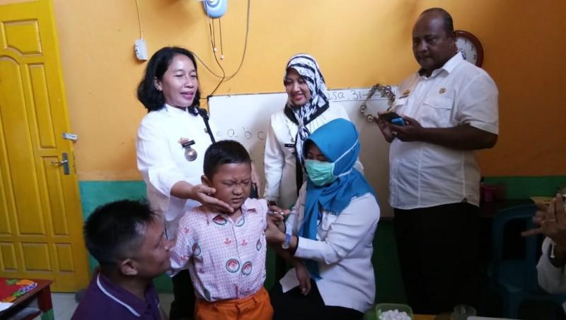 Sasaran Imunisasi Campak Rubella di Lamsel Mencapai 274.097 Anak