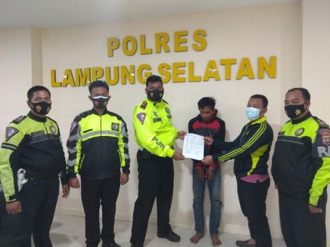 Sat PJR Gagalkan Pencurian Motor di Lampung Selatan