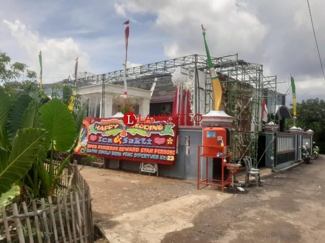 Hajatan Anggota DPRD Tanggamus di Rajabasa Dibubarkan