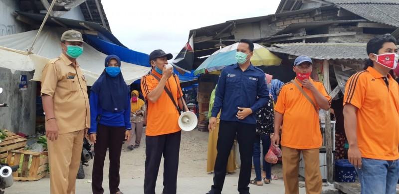 Satgas Covid-19 Bumidaya Rutin Kampanyekan 3M di Pasar
