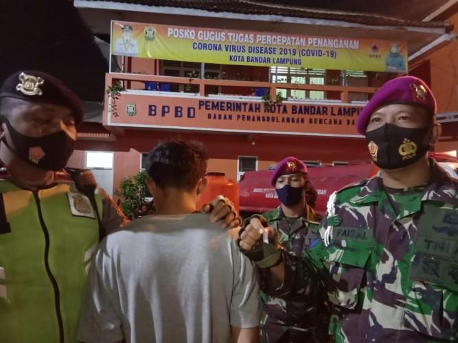 Satgas Covid-19 Kembali Amankan Pembawa Sabu saat Razia Masker