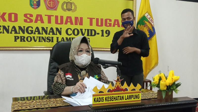 Satgas Covid-19 Lampung Menunggu Hasil Uji Vaksin
