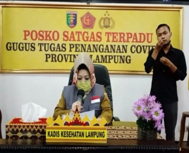 Satgas Covid-19 Lampung Tak Miliki Data Pasien Anak