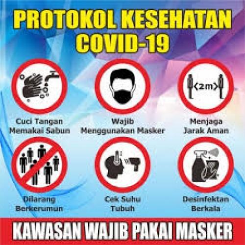 Satgas Covid-19 Lamtim Menegakan Protokol Kesehatan dengan 3M dan 1T