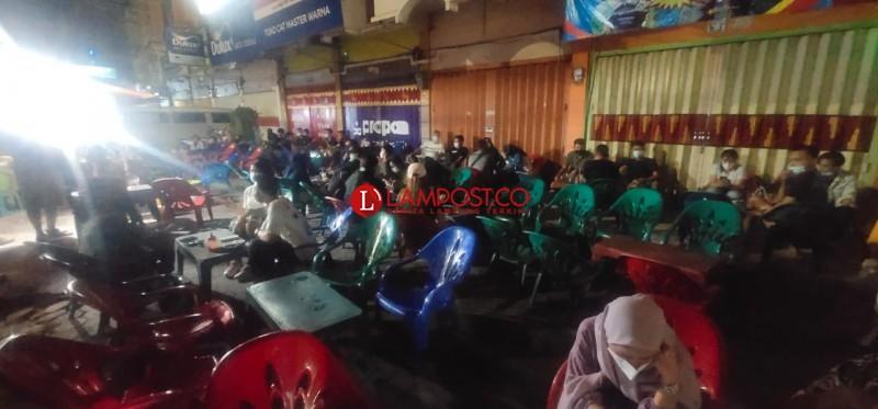Satgas Covid-19 Sisir Titik Keramaian di Bandar Lampung