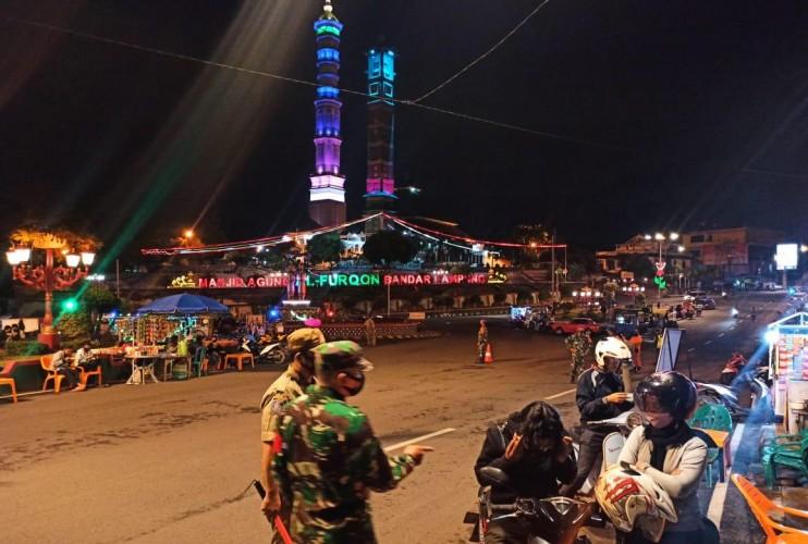 Satgas Covid Bandar Lampung Tak Pernah Lelah Menegakkan Prokes
