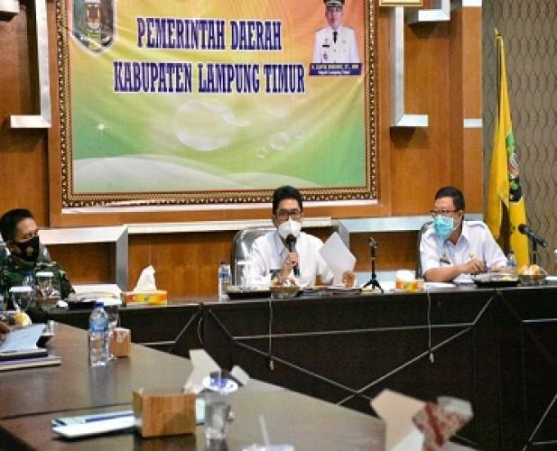 Satgas Pelaksana Operasi Yustisi Lamtim Diminta Siapkan Stok Masker