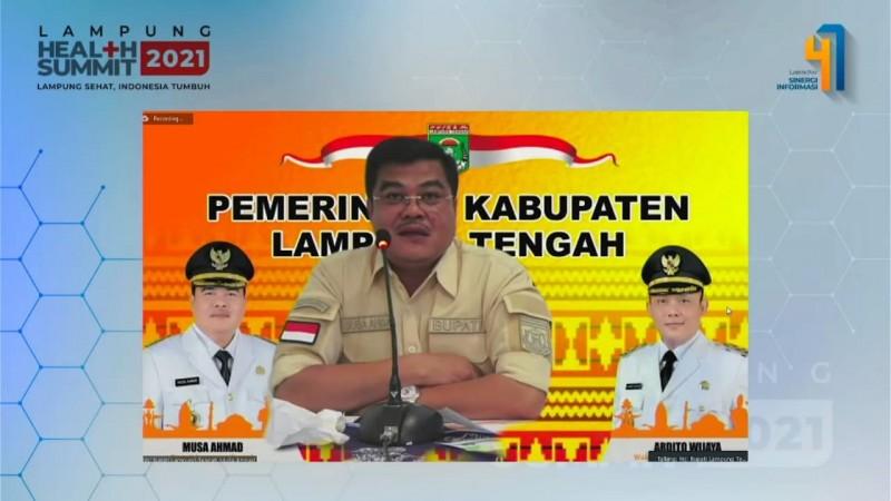 Satgas Pemetaan Vaksin Dorong Vaksinasi Covid-19 di Lampung Tengah