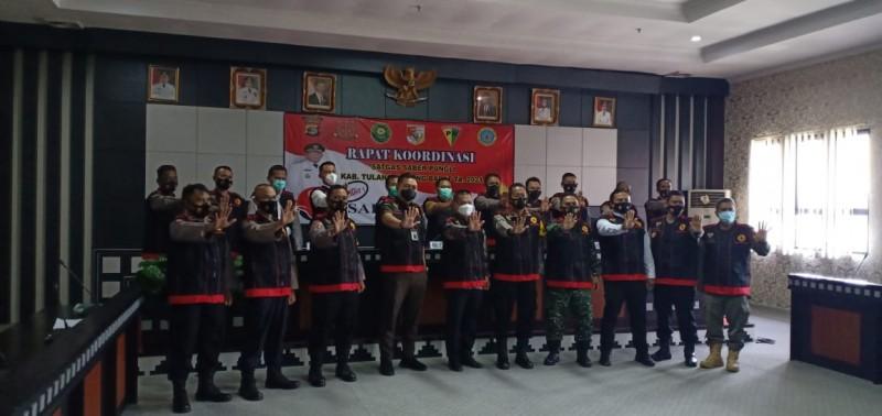 Satgas Saber Pungli Kawal Pemkab Tubaba Bersih