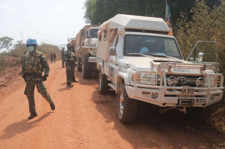 Satgas TNI Bantu Selamatkan Warga AS di RD Kongo