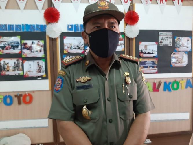 Satpol PP Bandar Lampung Terjunkan 60 Personel Tertibkan APK