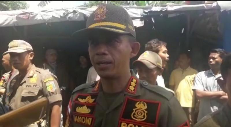 Satpol PP: Kami Sifatnya Membantu Pengamanan Pengosongan Lapak