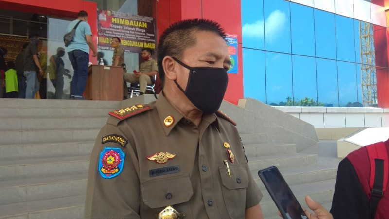 Satpol PP Kota Bandar Lampung Amankan Tujuh Orang Gila