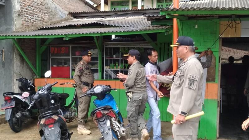 Satpol PP Pesawaran Sosialisasikan Perda Ketentraman dan Ketertiban Umum