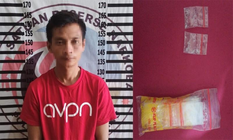 Satresnarkoba Polres Tulangbawang Bekuk Pengedar Narkoba