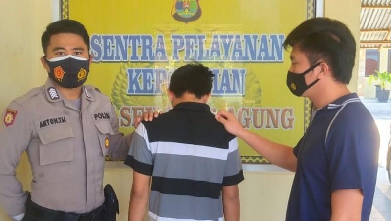 Satu dari Dua Pelaku Jambret di Kotaagung Ditangkap