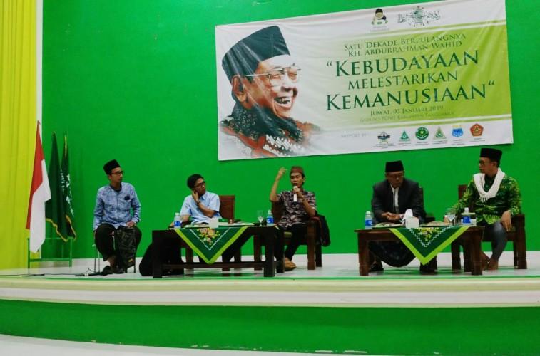 Satu Dekade Gus Dur Wafat, Gusdurian Tanggamus Gelar Dialog Kebudayaan