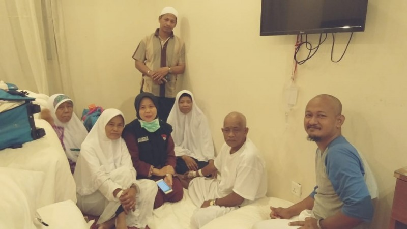 Satu Jemaah Haji Kloter 11 JKG Lampung Tengah Sakit di Tanah Suci