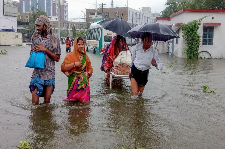 Satu Juta Warga Bihar India Terdampak Banjir Parah
