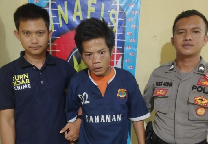 Satu Pelaku Pencurian Mobil Ditangkap Saat Sembunyi di Semak-semak
