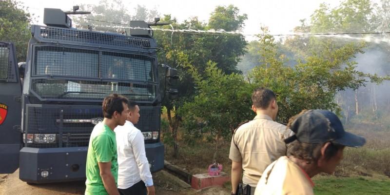 Satu Rumah Ludes Terbakar di Lampung Utara