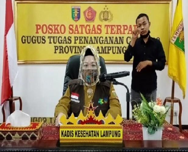 Satu Tambahan Pasien Covid-19 di Lampung dari Bandar Lampung