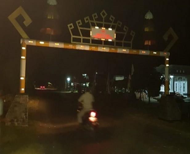 Satu Warga Tubaba Tewas Menghantam Portal Jalan