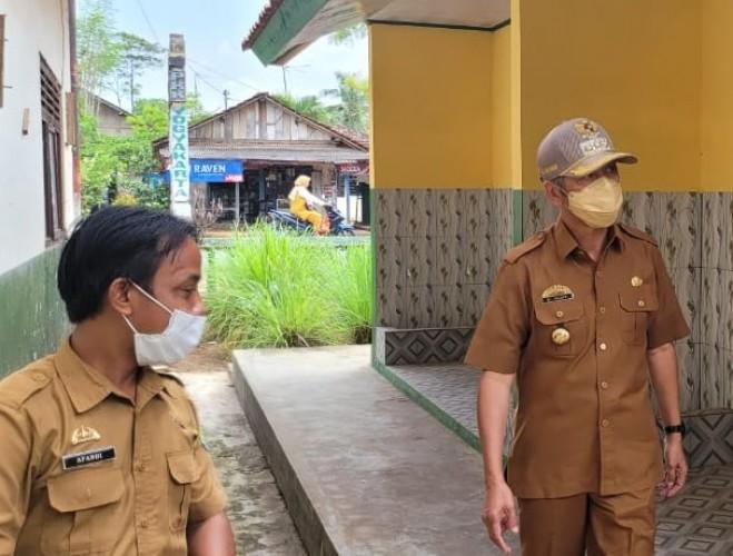 SD di Pringsewu Gelar PTM Pertama Setelah Hampir Dua Tahun Daring
