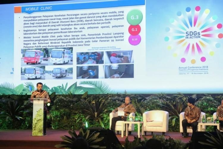 SDGs Annual Conference, Lampung Akselerasi Pembangunan untuk Kesejahteraan Warga