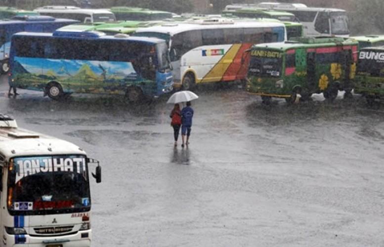 Sebagian Wilayah Lampung Berpotensi Hujan Lebat
