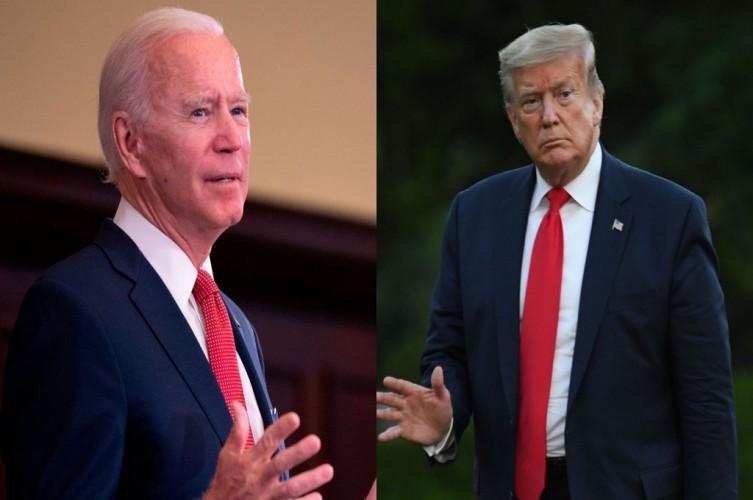 Sehari Jelang Pilpres AS, Biden Masih Unggul Atas Trump
