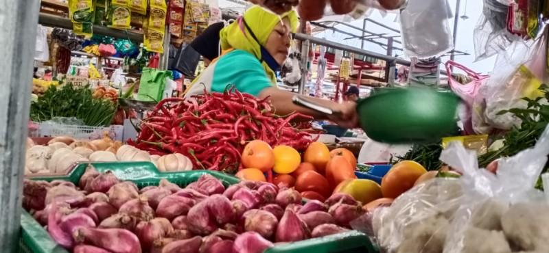Sejumlah Harga Bahan Pokok di Pasar Mulai Normal