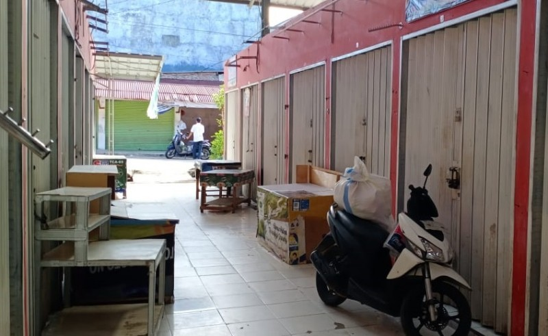 Sejumlah Pasar di Bandar Lampung Belum Beroperasi