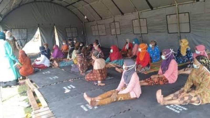 Sejumlah Pengungsi Merapi Alami Hipertensi dan Ispa