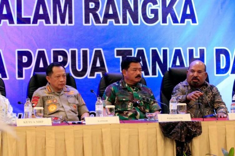 Sejumlah Tokoh Deklarasikan Papua Tanah Damai