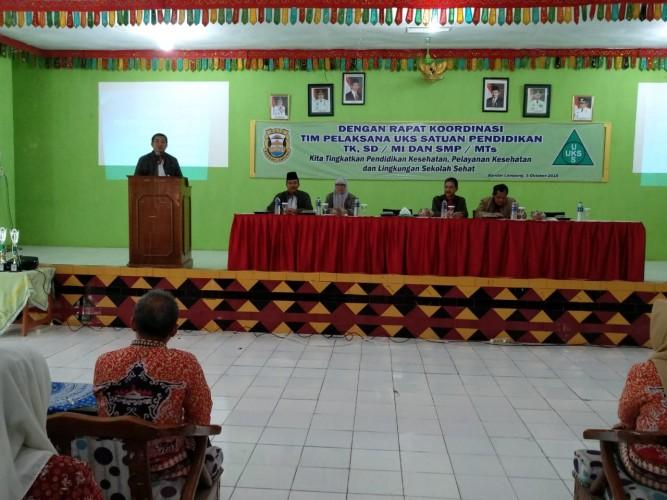 Sekkot Buka Rapat Koordinasi TP UKS Bandar Lampung