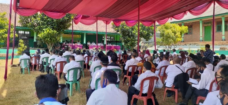 Sekolah di Lampung Utara Siap Gelar KBM Tatap Muka