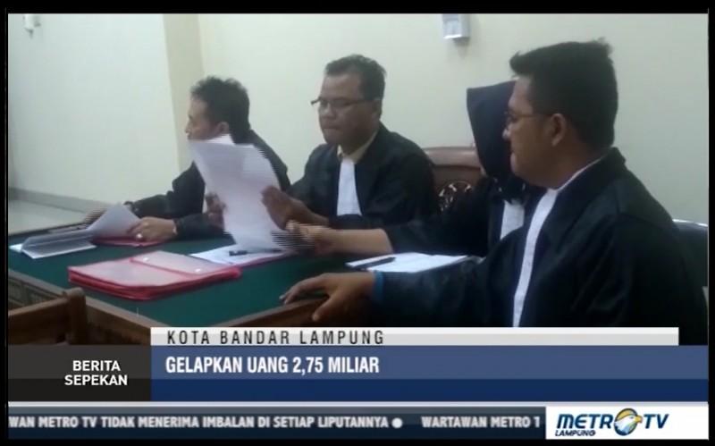 Sekretaris Demokrat Lampung Tersangka Penggelapan Uang 2,75 Miliar