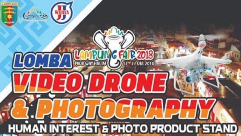 Ini Dia Pemenang Lomba Video Drone dan Photography Lampung Fair 2018