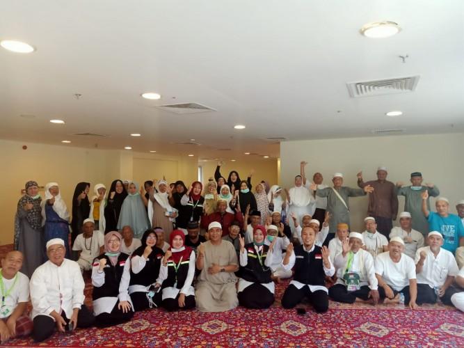 Selesaikan Ibadah Haji, Kondisi Jamaah Bandar Lampung Sehat