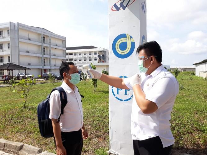 Seluruh BUMN di Lampung Diminta Perketat Protokol Kesehatan