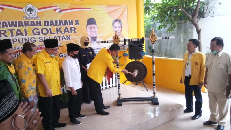 Seluruh Kader Golkar Diminta Dukung Penuh Keputusan DPP