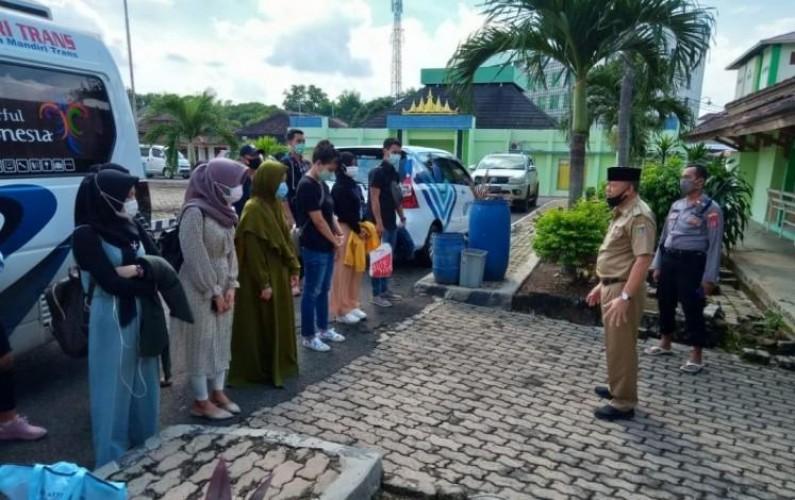 Sembilan Pekerja Migran Asal Lampung Diisolasi di Jakarta