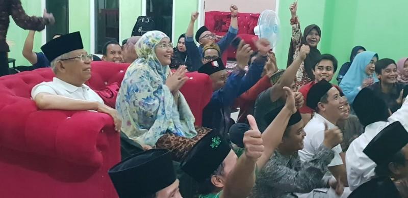 Sempat Tegang, Ma'ruf Amin Ucapkan Selamat Timnas Indonesia Berhasil Juara Piala AFF