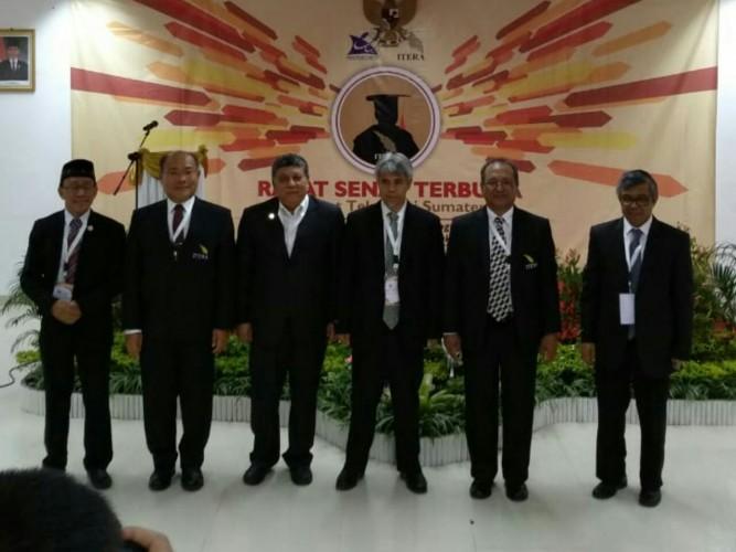 Senat Itera Tetapkan Tiga Calon Rektor Itera